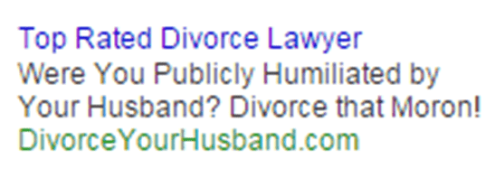google ads for legal firms