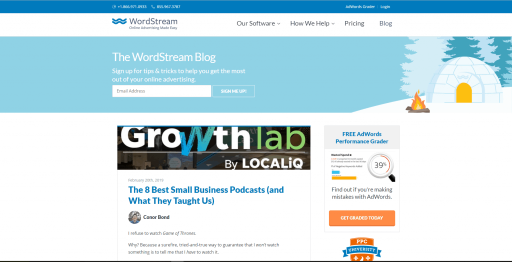 top-ppc-blogs-wordstream