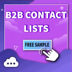 B2B Contact Lists